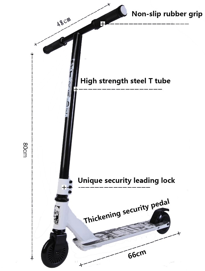 High quality two wheel kick scooter with cheap kick scooter