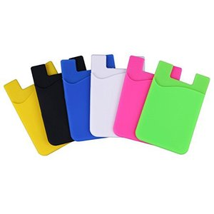 New Gadgets Cell Phone Card Holder Wallet 3m Sticker Smart Wallet Mobile Card Holder