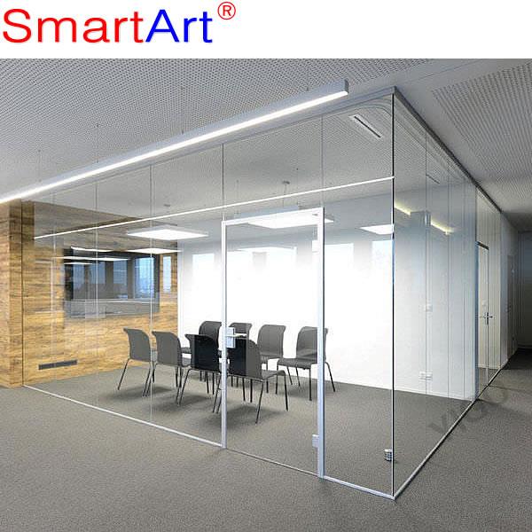 Vidrio templado puerta de la oficina cub culos de oficina for Puertas de cristal para oficina