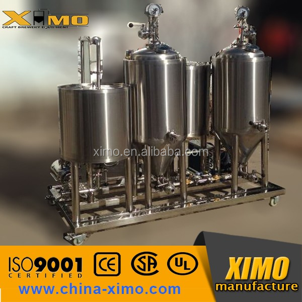 30L 50L per batch homebrewery copper plating small brewery equipment