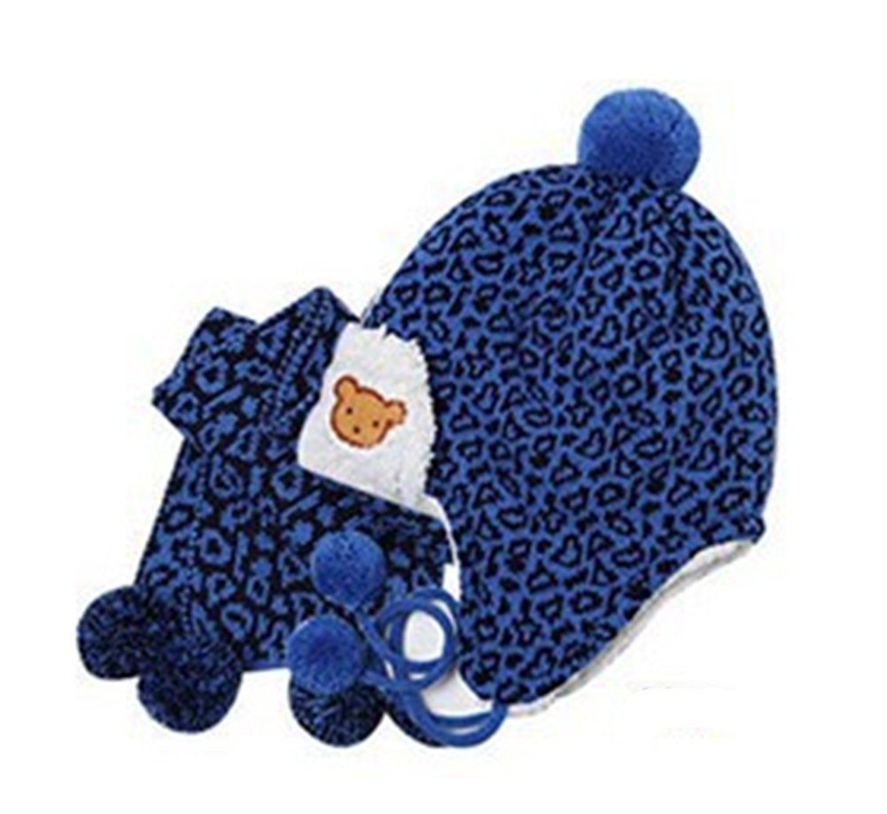 Get Quotations · Chariot Trading - Baby Winter Hat Child Hat Leopard Print  Hat Perimeter e08ede39b66c