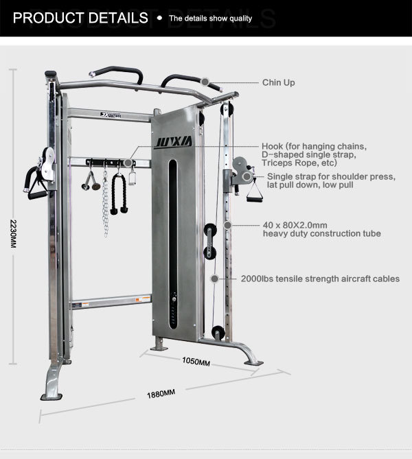 Large-scale Folding Power Rack Gym Equipment For Sale
