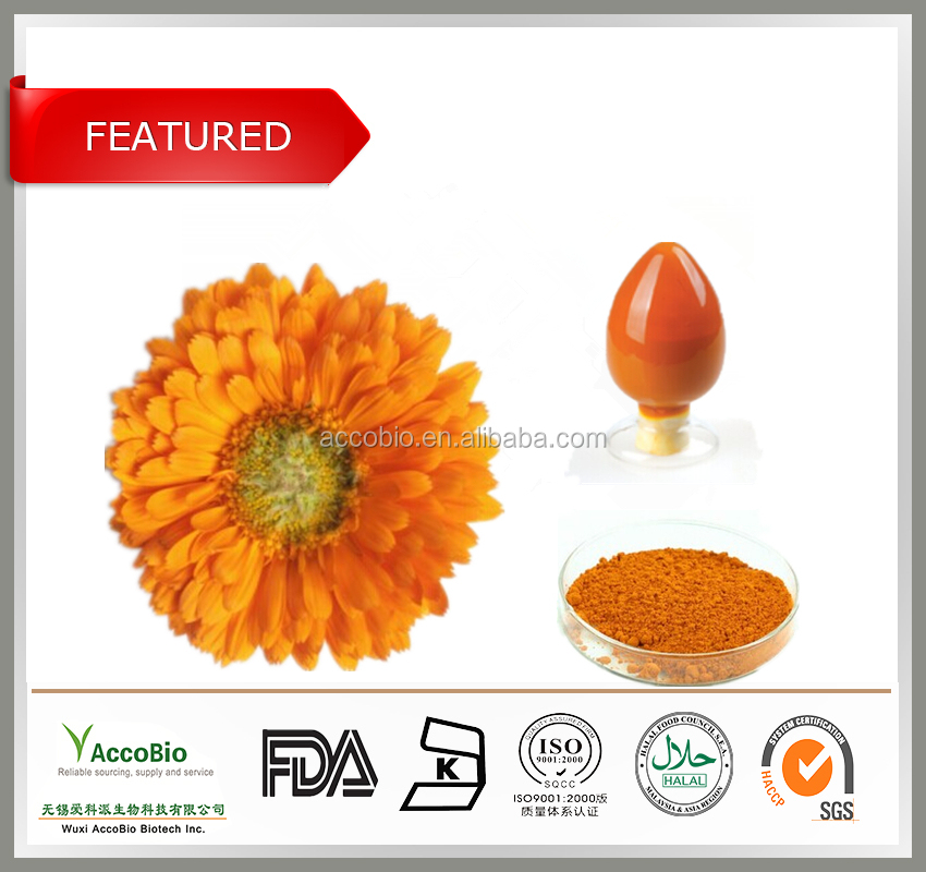 Free samples Marigold Flower Extract / Lutein In Bulk