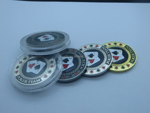 HOT SALE Factory make high quality Custom metal poker chips custom military ceramic