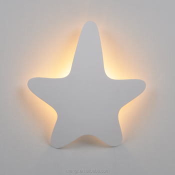 Wall Light Mg 3073 Gypsum Plaster Five Pointed Star Shaped