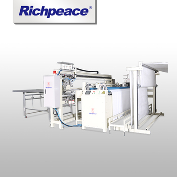 High-effiency Richpeace Automatic 4-Side Edge Sewing Machine