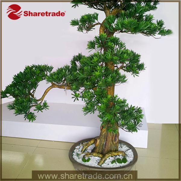 Hot promotion r el taille pot evergreen am nagement for Arbre decoratif interieur
