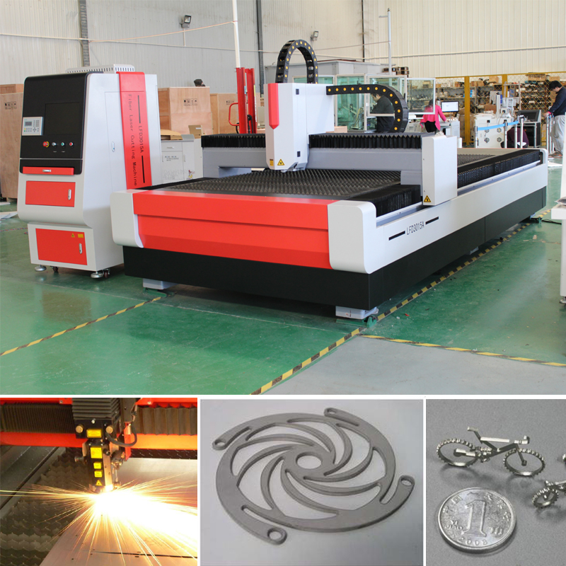 Performance oriented open and high-speed fiber laser cutting machine from XT LASER