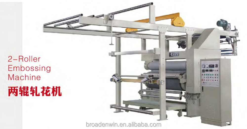 Broadenwin 2-roller embossing machine