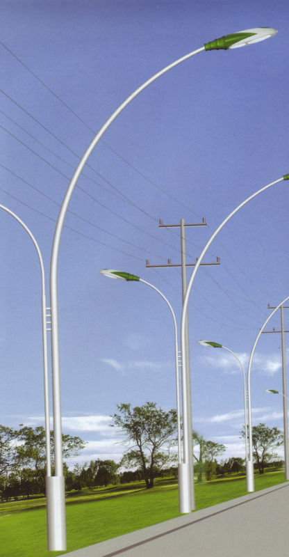 dual-arm unbalanced street light serious