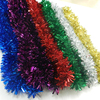 Wedding accessory popular wholesale festival items decorations outdoor mylar string curtain christmas tinsel garland