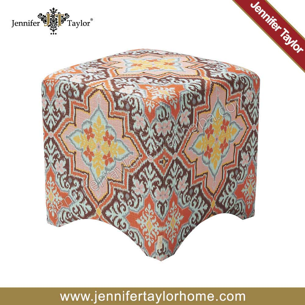 Newest style customized design of poufs ottoman for open seating area 5311-855