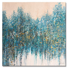 Oversized Modern Abstract Decorative Hand Painted Canvas Oil Painting