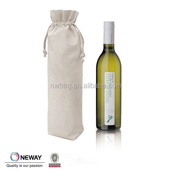 2015 China Price Quality Custom black cotton drawstring bag/custom silk drawstring bags/ Drawstring Bags For Wine Bottle