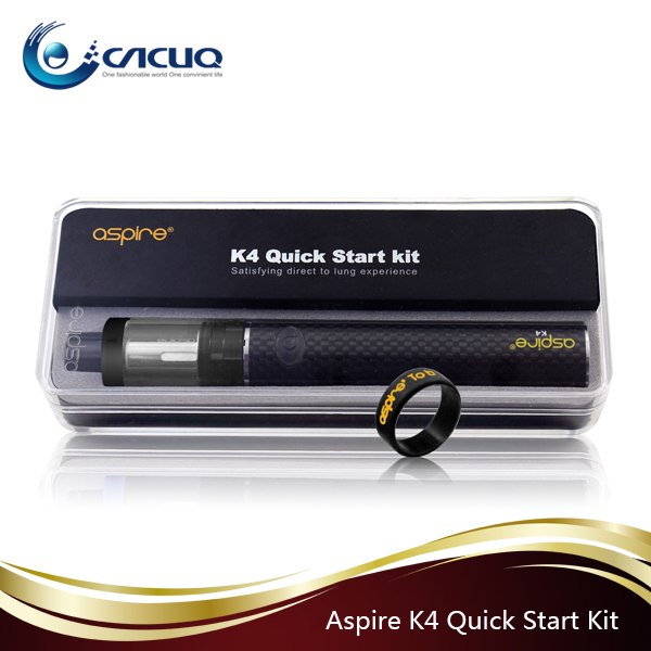 100% original aspire K4 Quick Starter Kit 2000mah hottest products Aspire K2/ K3/ K4 Quick Starter Kit 2017 wholesale