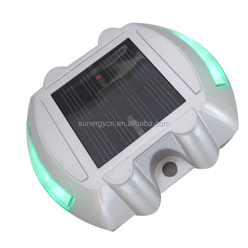 6 LED Solar Power Road Stud Security Light Outdoor Waterproof Light