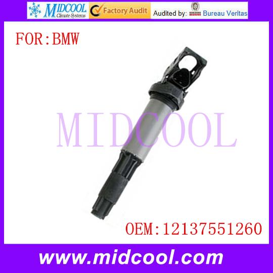Новый катушка зажигания использования OE NO. 12137551260 для BMW E46 E60 E63 E66 E65 E70 325i 330i M54
