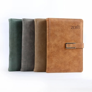 Vintage journal genuine leather notebook