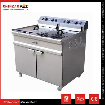 fryer filter machine used