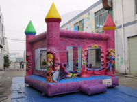 Inflatable Princess jumping castle, Princess moon bounces, inflatable bounces house for sales