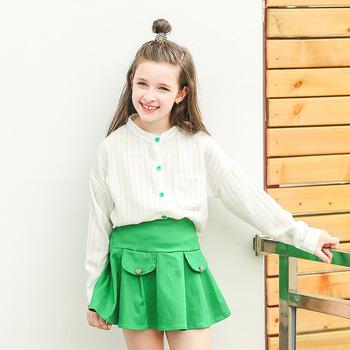 d08521d574ae9 Plus Size Fall Girl Clothing Korean Style Children Clothing Set Long Sleeve  T Shirt+Tutu