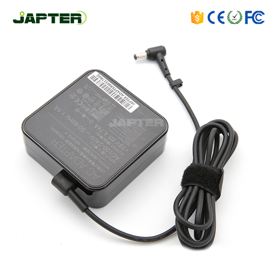 Japter Hot 100-240v 90w Wall plug ac adapter for ASUS pa-1900-24 laptop output 19v 4.74a with 5.5*2.5mm DC tip