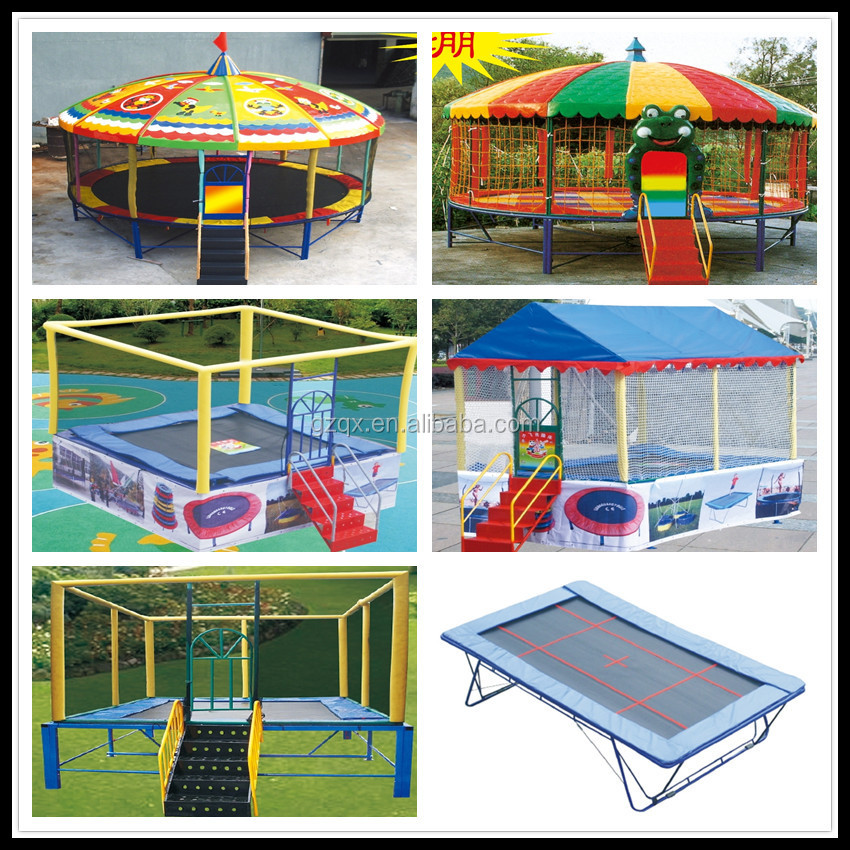 Hot sale hexagonal tr&oline sport with roof (QX-118A)/tr&olines at walmart  sc 1 st  Alibaba & Hot Sale Hexagonal Trampoline Sport With Roof (qx-118a ...
