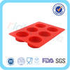 round silicone rubber soap molds