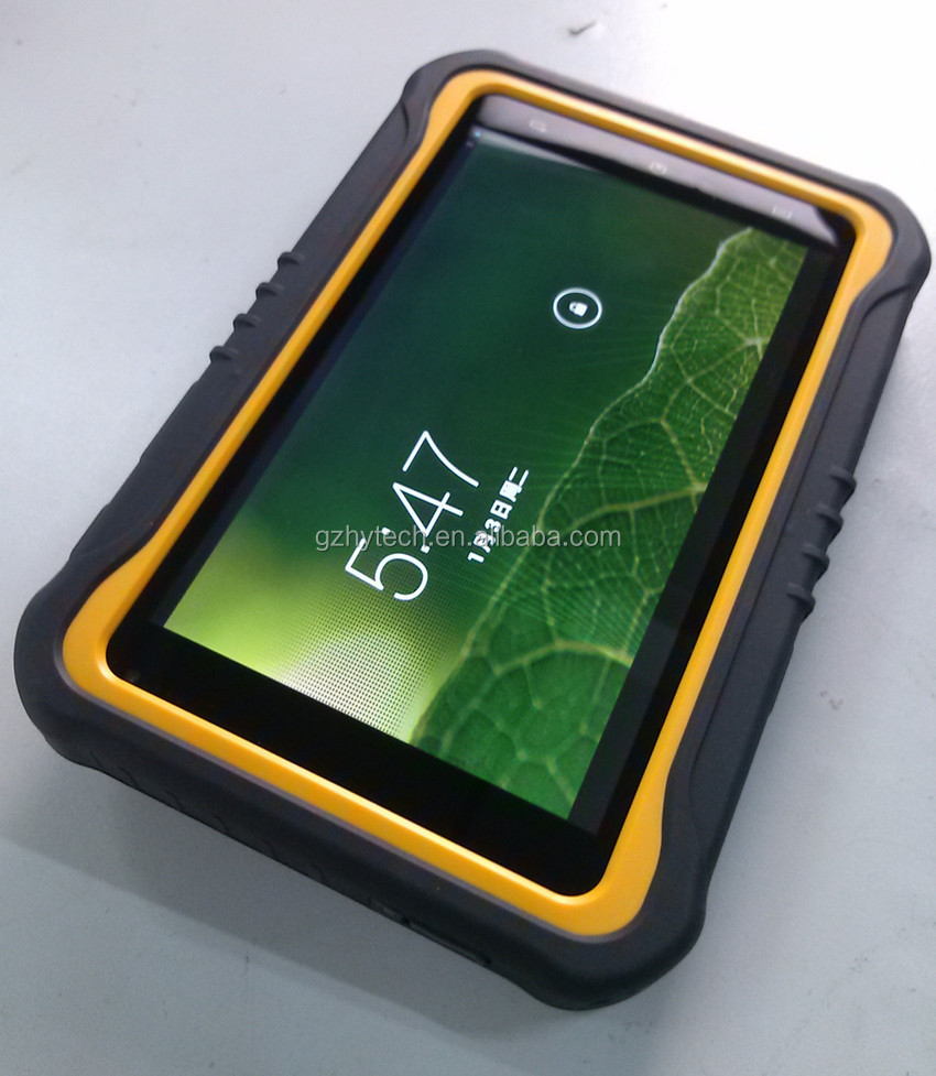 7'' rugged android 4.4 three anti-industrial-grade wifi/bluetooth Zigbee RFID tablet PC