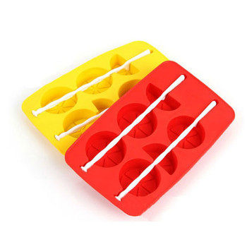 durable microwave oven silicone ice pop maker