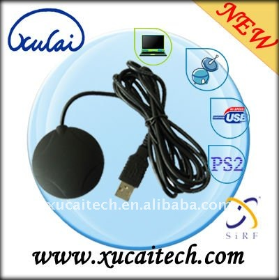 High Speed Car GPS Receiver NMEA 0183 with USB Port