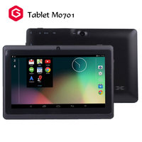 Wholesale products low cost price 512MB Android tablet M0701 game 3gp games free downloads tablet for kids