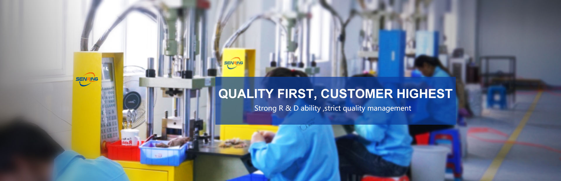 QUALITY FIRST,CUSTOMER HIGHEST