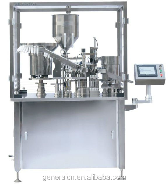 Filling and Closing Machine for Veterinary Pharmaceutical Syringes(GSL30-1N)