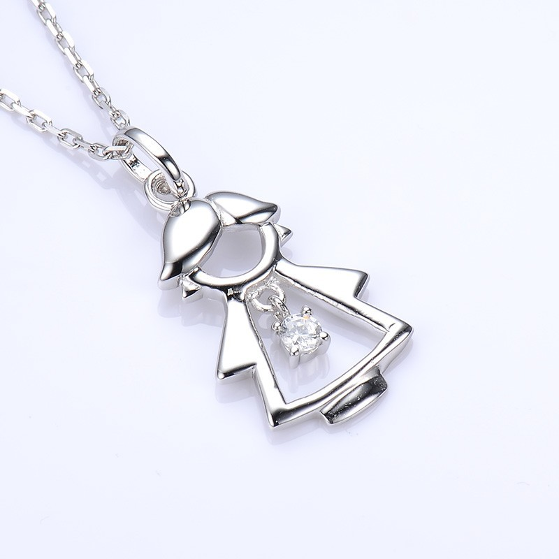 natural women jewelry girl img solid baby s superb quality ct gold in diamond pendant white pendants