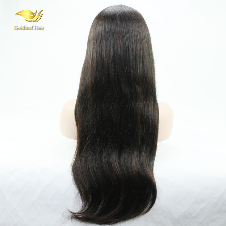 Hot selling natural hairline grade 9A brazilian human hair full lace wig фото