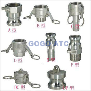 quick coupler Type DC DN 20 Camlock compression coupling for steel pipe steel beam connections