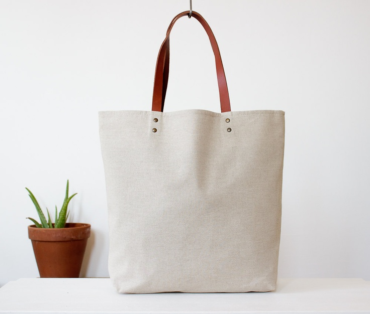 Natural White Cotton Fabric Tote Bag With Leather Strap - Buy Cotton Fabric Tote  Bag With Leather Strap 6d00c1d9873b