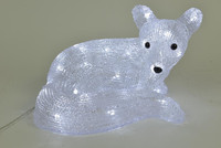 3D Acrylic figure lights fox