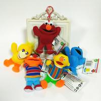 HI customized cartoon character Sesame Street key chain