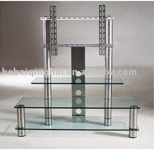 estanteria de vidrio templado tv