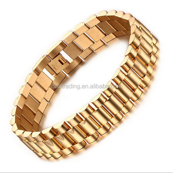 Men S Bracelet Gold Bracelet Designs Men Chunky Chain Bracelets