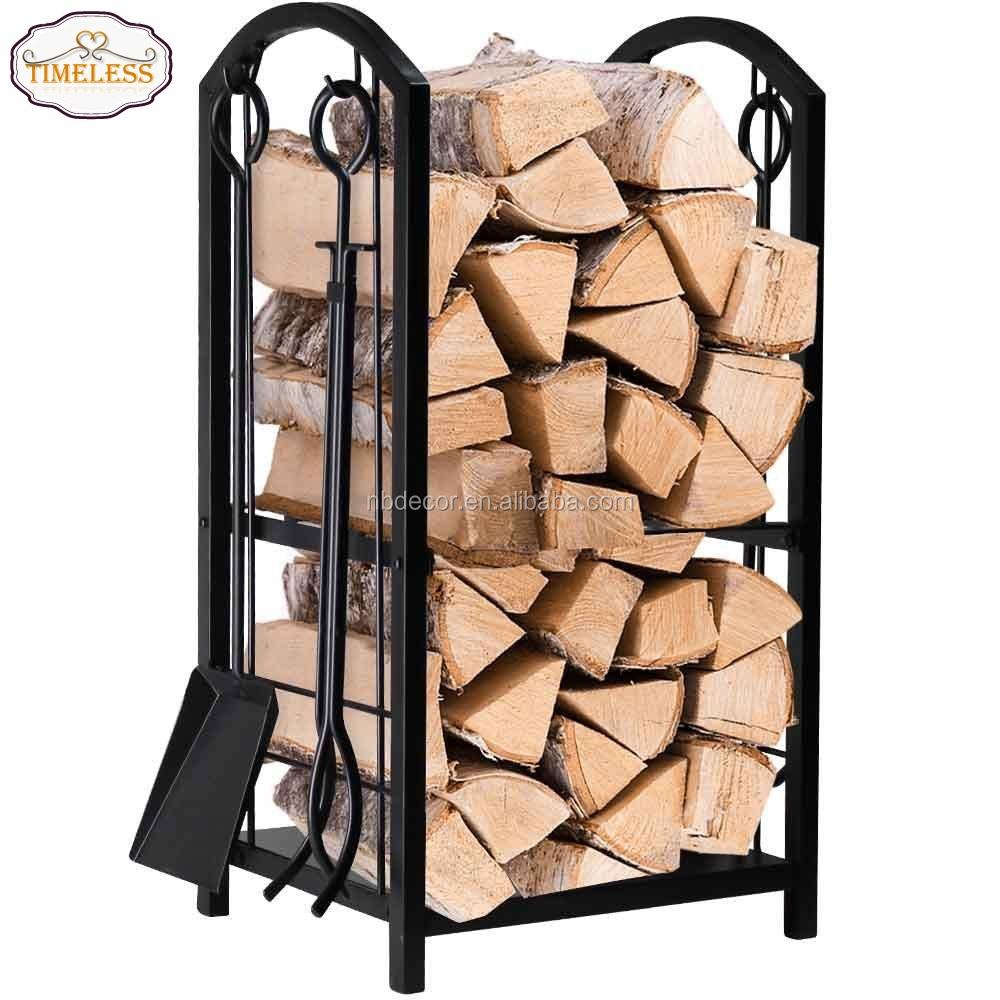 fireplace firewood rack - 736×736