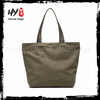 Popular fashion rope handle printed plain canvas bags