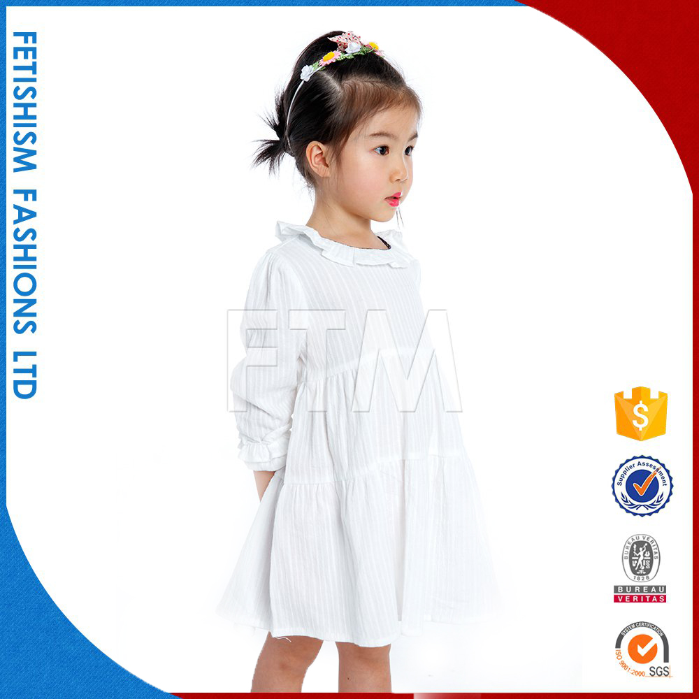 New design 1-6 years old baby children casual baby girl dresses