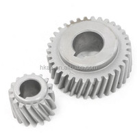 precise gear products maker harden steel helical gear with key bore customiezed marble cutting machine helical gear