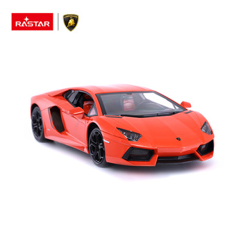 Rastar factory sale Lamborghini realistic car plastic toy electric rc cars for kids
