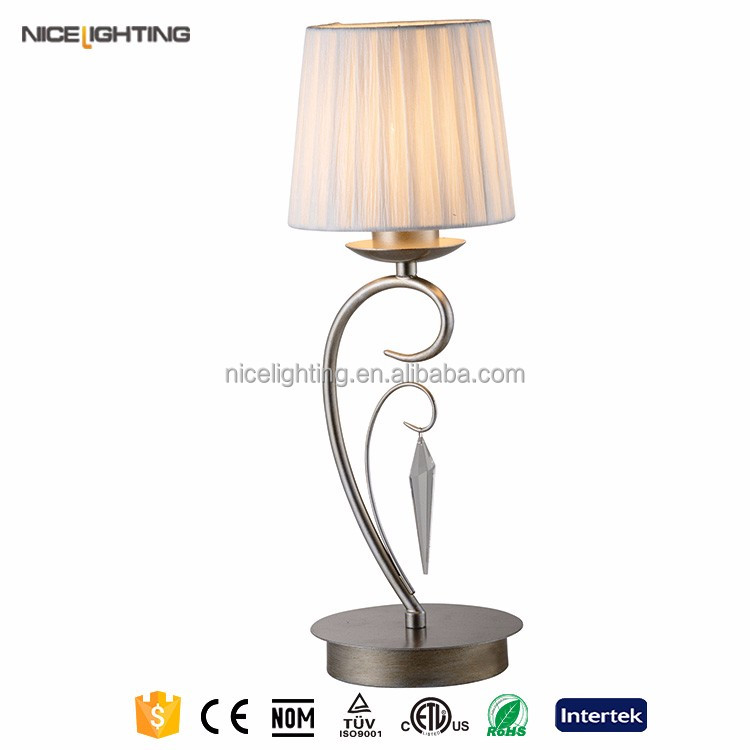 Fabric up down light decoration table lamp