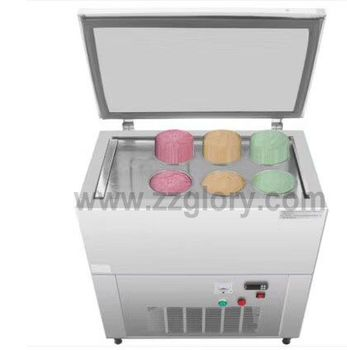 6*2.2L Ice Cream Brick Snow Ice Cream Maker Ice Block Making Machine