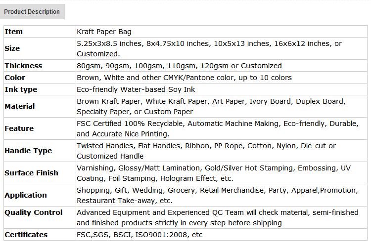 El nombre de la marca de calidad superior de lujo 2019 Venta caliente colorido diseño de Alimentos kraft de regalo de compras de bolsos de papel de impresión bolsa